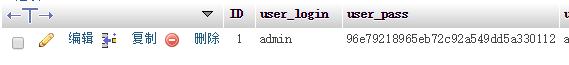 WordPress登录密码找回办法之修改数据库篇