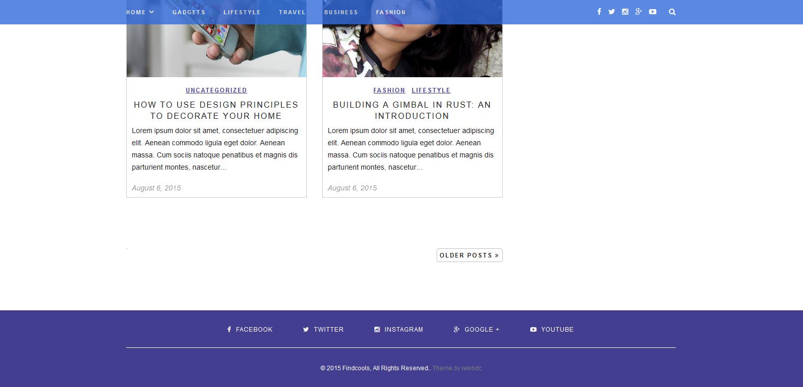 WordPress数码主题:Findcools
