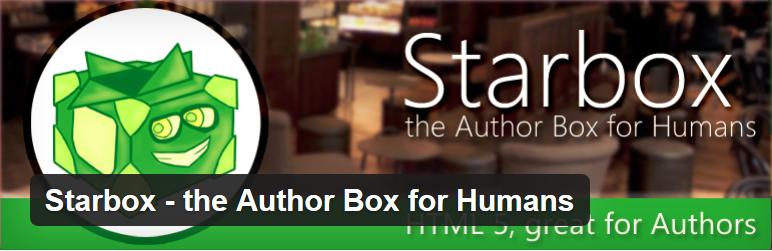 WordPress作者信息展示插件: Starbox