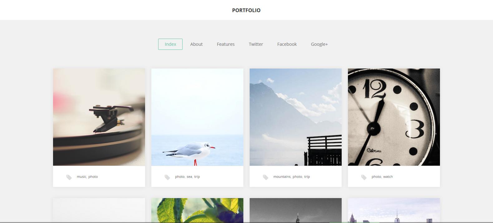 WordPress图片主题:GK Portfolio