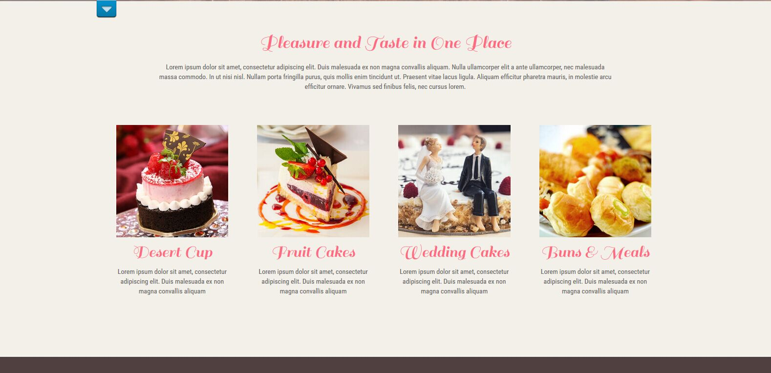 WordPress西饼屋主题:SKT Bakery