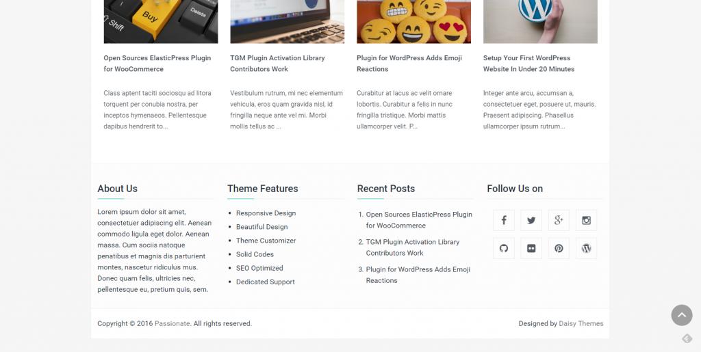 WordPress企业主题:Passionate