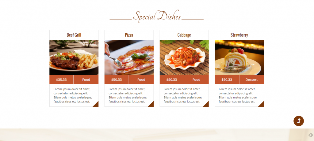 WordPress餐厅主题:Restaurantz