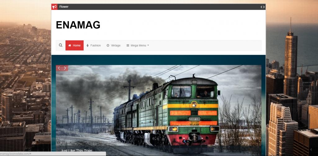 WordPress杂志主题:Enamag