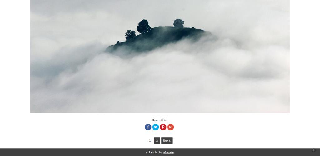 WordPress图片主题:Atlantic