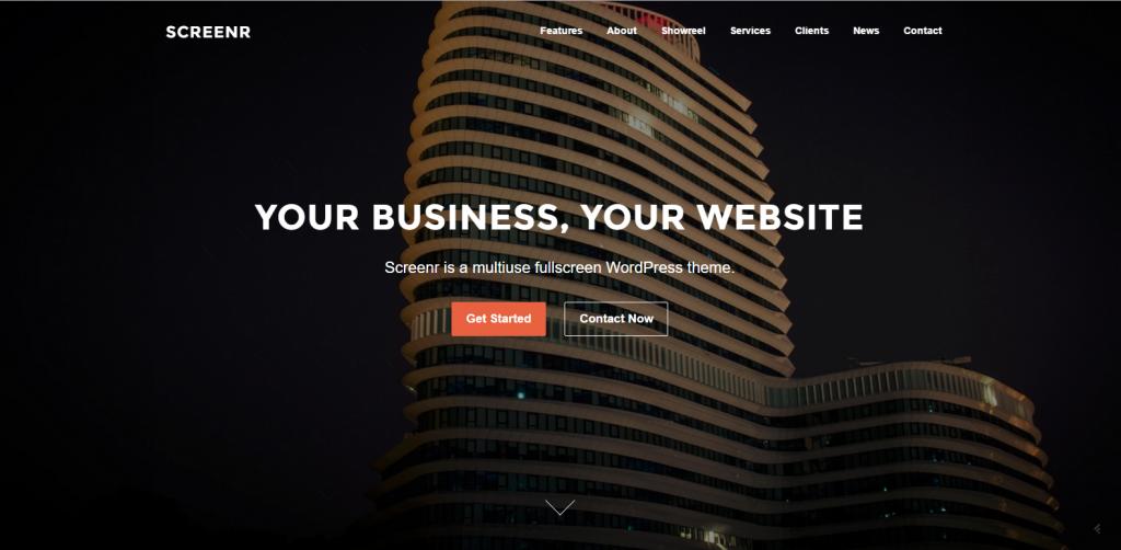 WordPress多功能企业主题:Screenr