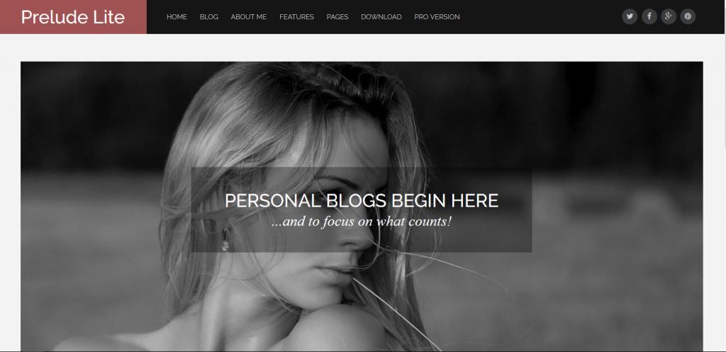 WordPress工作室主题:Prelude-lite