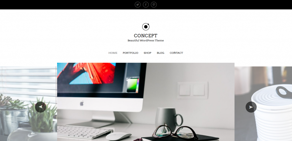 WordPress工作室主题:Concept Lite