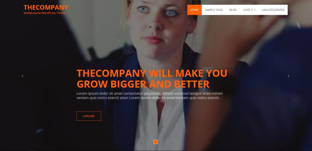 WordPress企业主题:thecompany