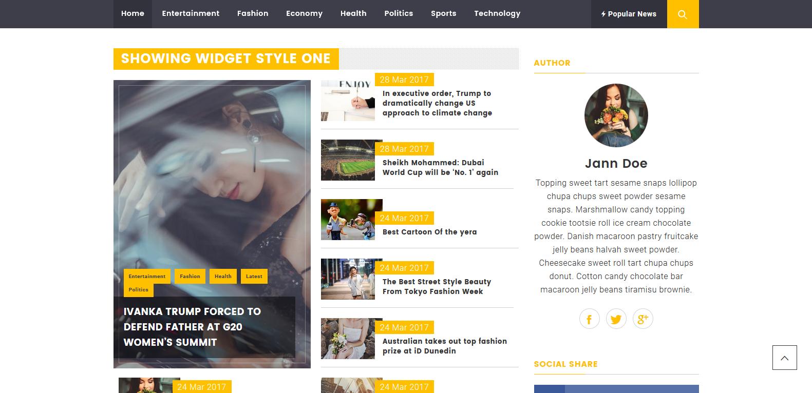 WordPress杂志主题:Magazine Prime