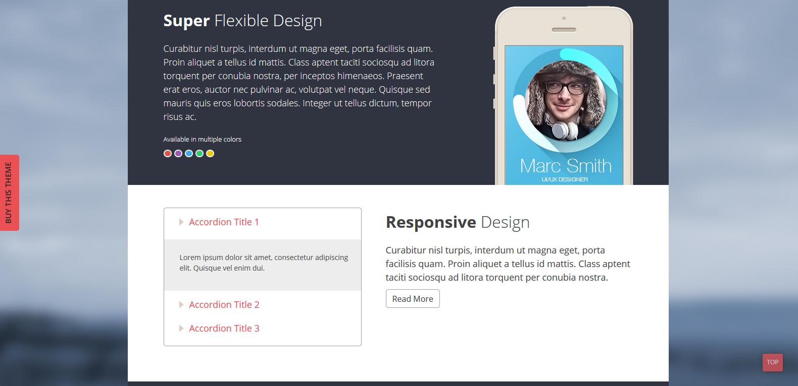 WordPress手机APP主题:SKT The App