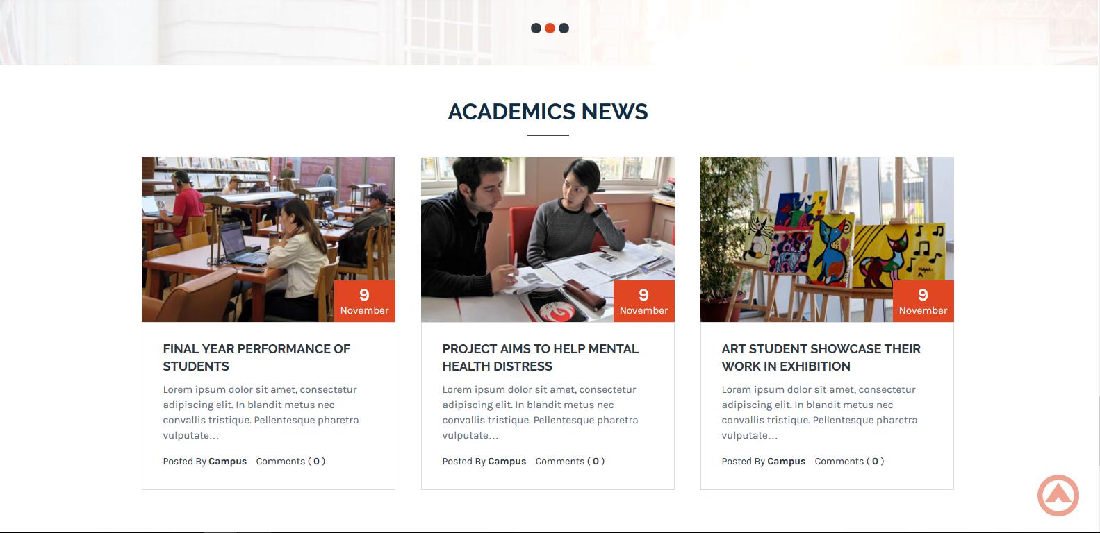 WordPress学校主题:Campus Lite