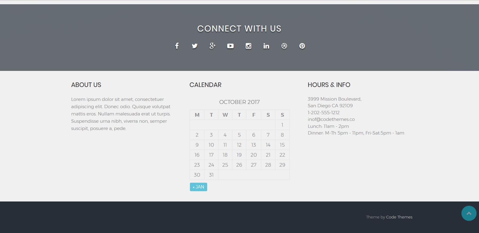 WordPress个人网站/工作室主题:CT Corporate