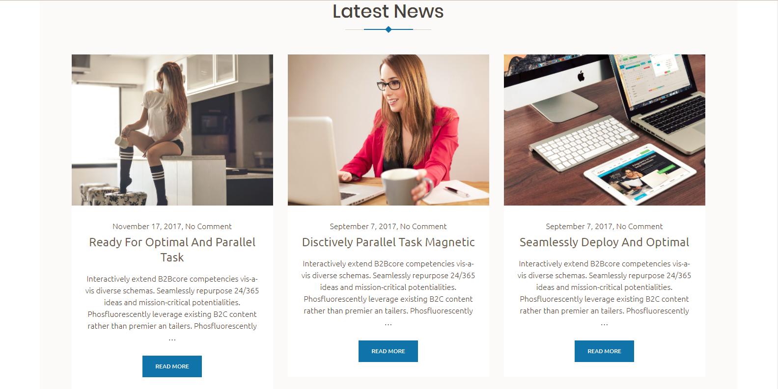 WordPress企业主题:Boston Business