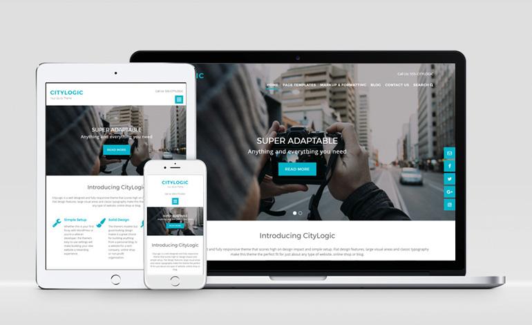 WordPress外贸主题:CityLogic
