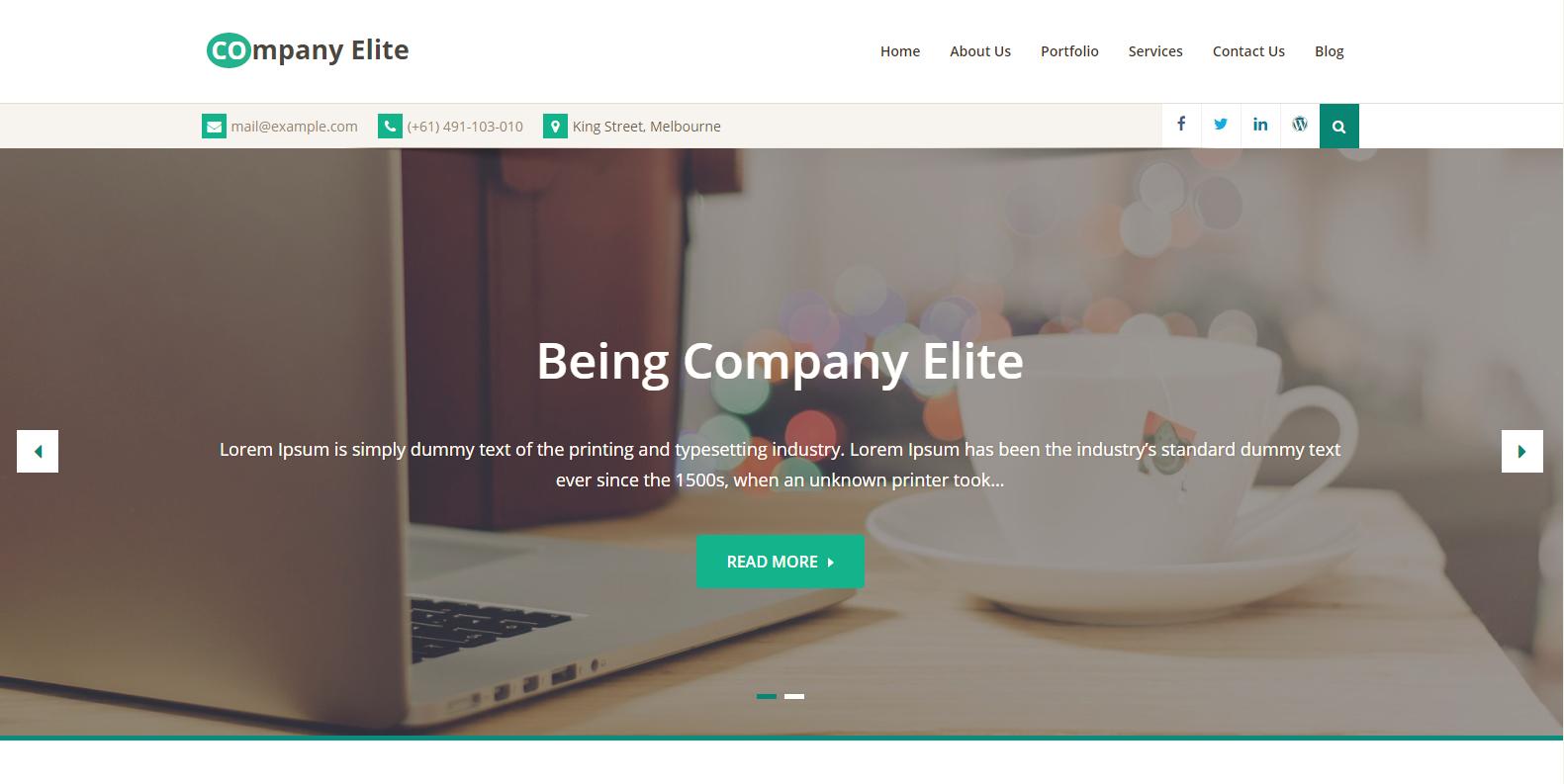 WordPress多用途企业主题:Company Elite