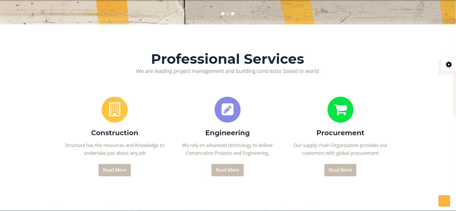 WordPress外贸主题:Structural