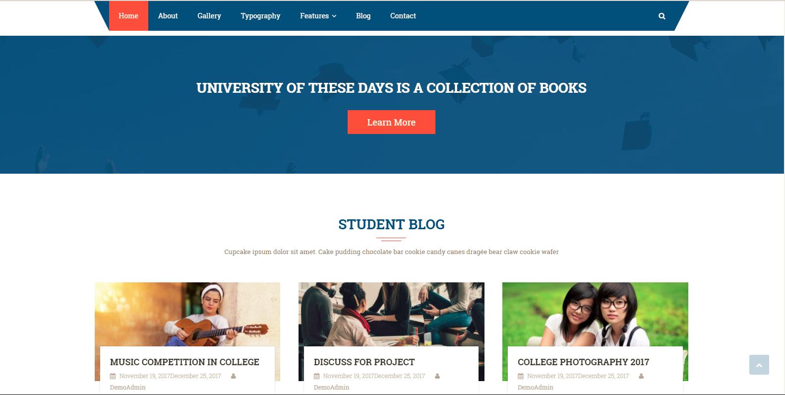WordPress教育主题:Scholarship