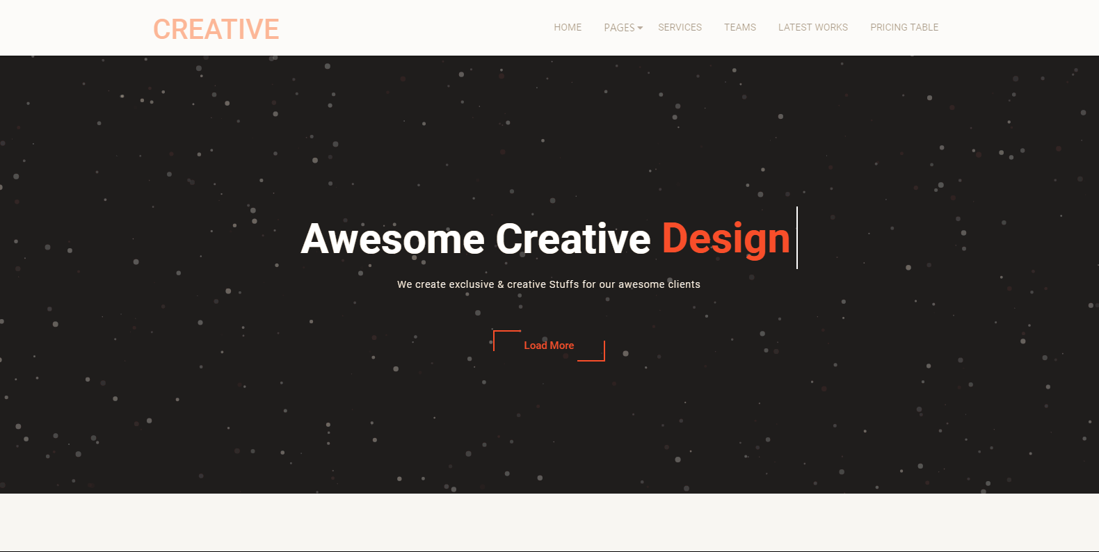WordPress企业主题:Creative Company