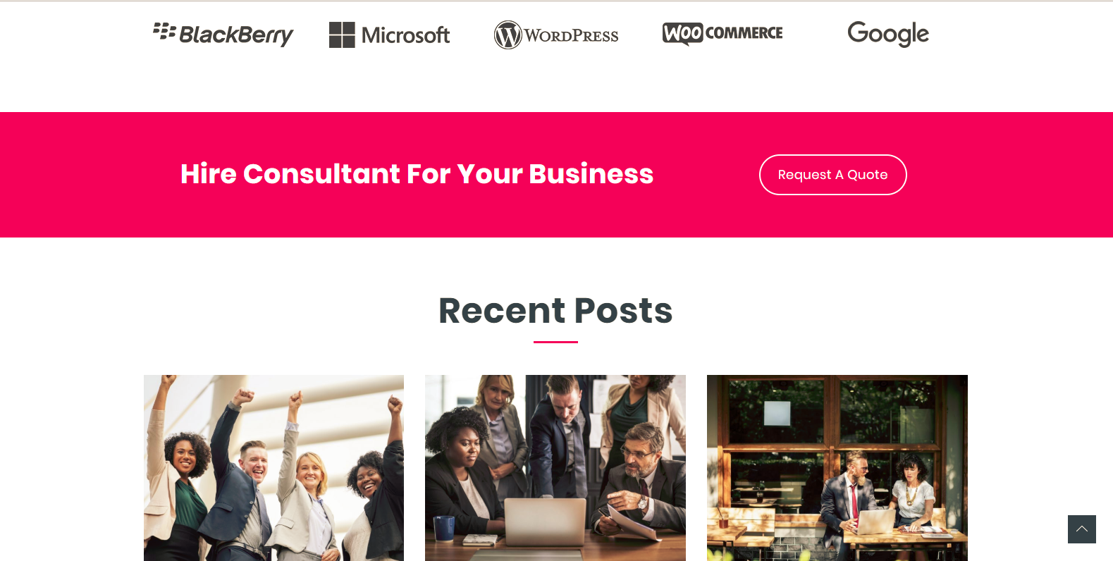 WordPress服务类企业主题:Mastership