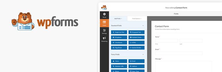 WordPress联系表单插件:WPForms